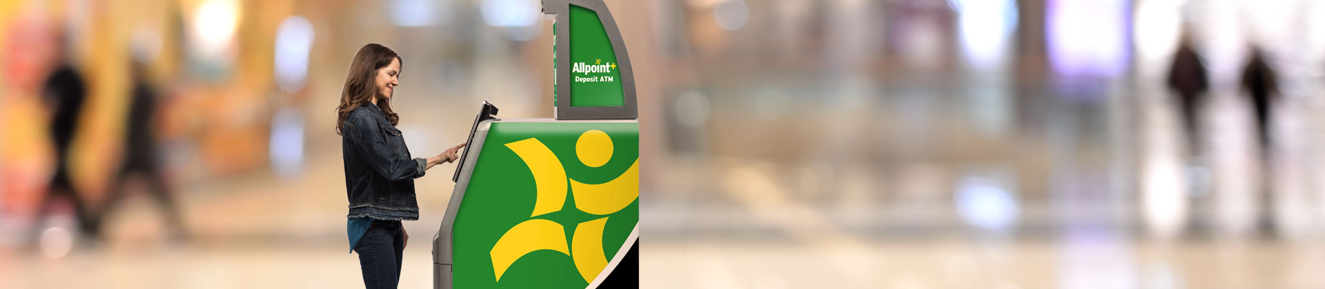 where is a allpoint atm located